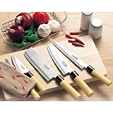 Japanese kitchen knife Set of 5 (wooden box case) Mr. Takaaki Nakamura