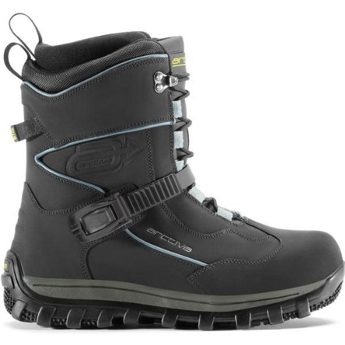 ARCTIVA COMP BY TRUKKE SNOW SNOWMOBILE BOOTS CHARCOAL 7