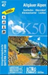 Allgäuer Alpen (UK50-47) (UK50 Umgebu...