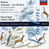 Poulenc - Aubade · Les biches · Les animaux modèles / Pascal Rogé · Charles Dutoit