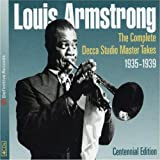 echange, troc Louis Armstrong - The Complete Decca Studio (1935-1939)