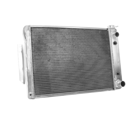 LS1 Crate Engine Griffin Radiator 6-567AE-JAX Aluminum Radiator with LS1 Outlet and 2 Rows of 1.25