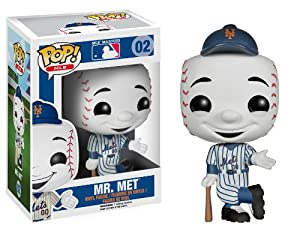 Funko Pop! Major League Baseball: Mr. Met Vinyl Figure