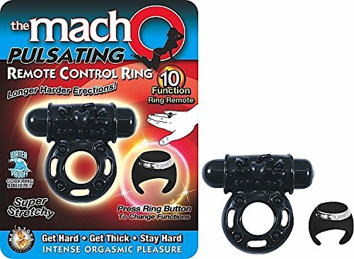 Nasstoys Macho Remote Control Ring Black
