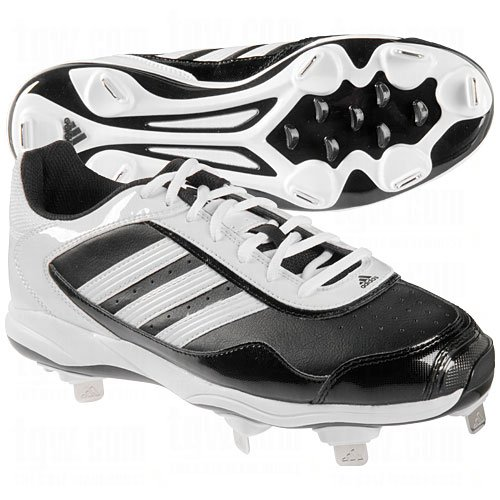 adidas Adidas Womens Abbott Pro Metal 2.0 Cleats 9 1/2 Us Black|White 9 1/2 US