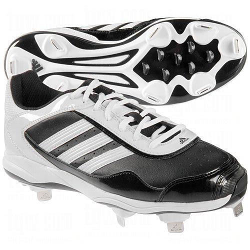 adidasAdidas Womens Abbott Pro Metal 2.0 Cleats 9 1/2 Us Black|White 9 1/2 US