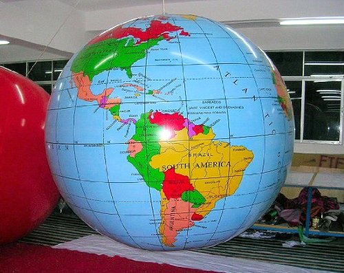 Giant Inflatable Globe front-308214