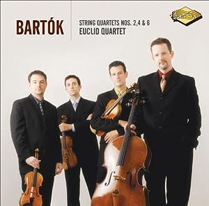 Bartok: String Quartets Nos. 2, 4, & 6 ~ Euclid Quartet