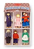 Toy - Melissa & Doug Wooden Family Doll Set