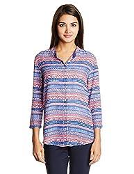 Lee Women's Tunic Shirt (LESH8428_Teaberry_Large)