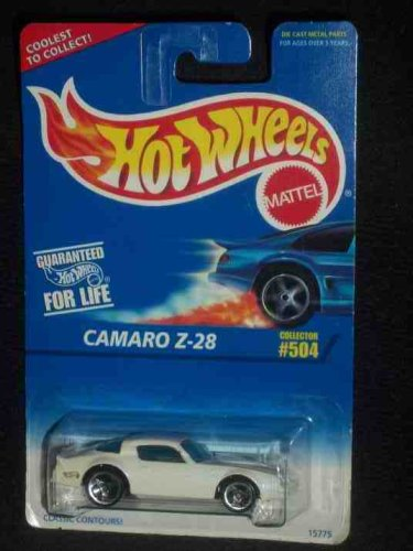 #504 Camaro Z-28 3-Spoke Wheels Collectible Collector Car Mattel Hot Wheels 1:64 Scale - 1