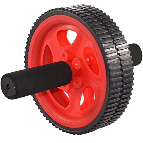 ACF Ab Roller for Abdominal Exercise - Best Ab Power Wheel for Strengthening Core (RED AB WHEEL) (Push Up Wheel compare prices)