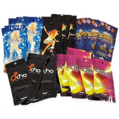 30 NEW Assorted Indoor Tanning Bed Lotion Large-sized Packets From Supre - Top Selling Lotion in the Industry 30 Pack