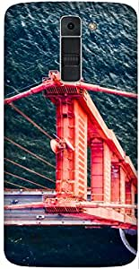 Bridge Top View by Sanchali Printed Back Cover Case For LG K7