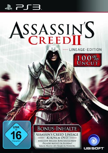 ASSASSIN'S CREED 2 - LINEAGE EDITION [IMPORT ALLEMAND] [JEU PS3]