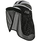 Mega Cap Taslon UV 50+ Sun Protection Outdoor Flap Hat Cap