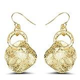 Silvantra Princess Choice Designer Brass Dangle Style Earring