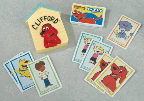 Clifford the Big Red Dog Pair-Up Card Game