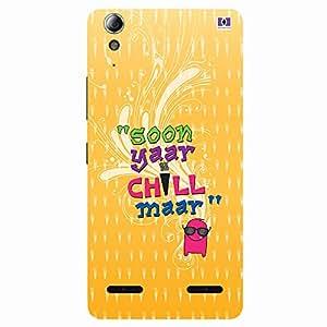 """Soon Yaar Chil Maar"" - Mobile Back Case Cover For Lenovo A6000"