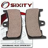 Sixity Front Ceramic Brake Pads 2004 2008 Buell XB12S Lightning Set Full Kit Complete