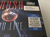 RUSH R40 Live 3CD+Blu-Ray Box Set 2015 BEST BUY EXCLUSIVE w/One Starman Flashlight