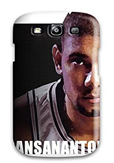buy 4701063K20199552 Rugged Skin Case Cover For Galaxy S3- Eco-Friendly Packaging(Tim Duncan)