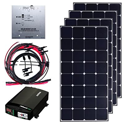 Grape Solar GS-400-KITD 400-Watt Deluxe Off-Grid Kit by Grape Solar
