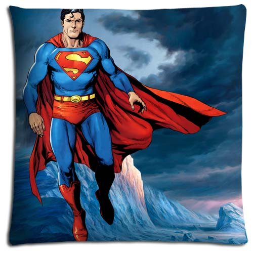 Man of steel cozy fleece throw with travel mug for Bureau 39 superman