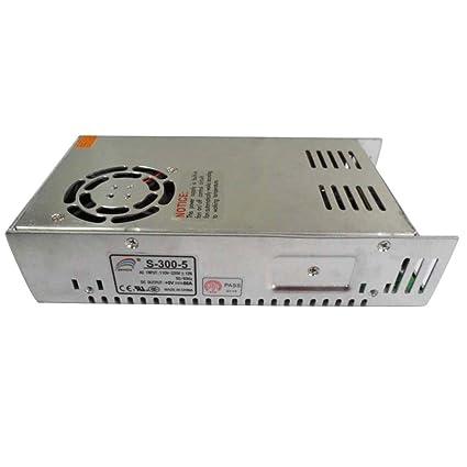 Smarstar AC110-220V à DC5V 60A 300W Conducteur d'alimentation électrique Driver pour CCTV LED Bande de lumière