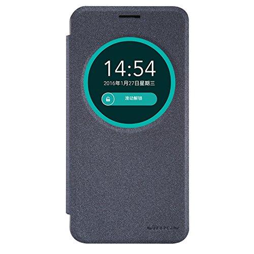 IVSO Asus Zenfone Max ZC550KL Cover - Slim Armor Cover Custodia per Asus Zenfone Max ZC550KL (2016 Version) 5.5-Inch Smartphone (Smart Armor Series - Nero)