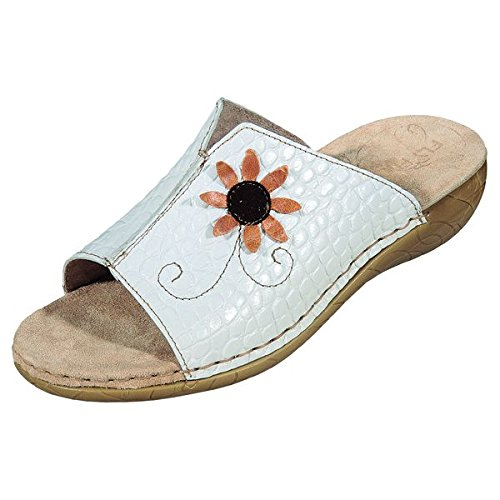 Fly FlotCoco - Pantofole Donna , Bianco (bianco), 39