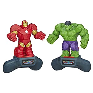 Marvel Battle Masters Super Hero Slam Iron Man vs. Hulk 2-Pack