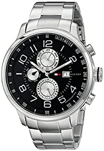 Tommy Hilfiger Men's 1790860 Stainless Steel Watch with Link Bracelet