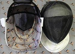 AF Epee Mask: Advanced Size Medium