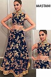 Shree Ganesh Women's Designer Multi-Coloured Silk Semi-Stitched Lahenga Choli [L110 (2)_Multi-Coloured]