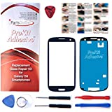 S3 ProKit, Pebble Blue Replacement Screen Glass Lens Kit S3 i9300 I747 T999 i535 s3 prokit adhesive