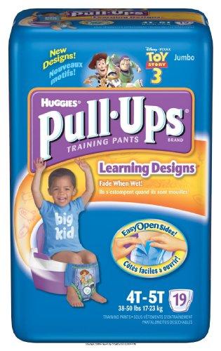 Huggies Pull-Ups - Training Pants [Huggies Pullup Trnpnt 4T-5T B] front-23211