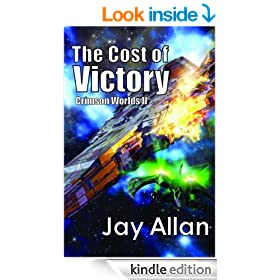The Cost of Victory (Crimson Worlds Book 2)