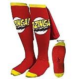 The Big Bang Theory Bazinga Cape Adult Socks