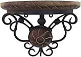 Beautiful Wooden Decorative Corner Wall Hanging Bracket Shelf - Pack of 1
