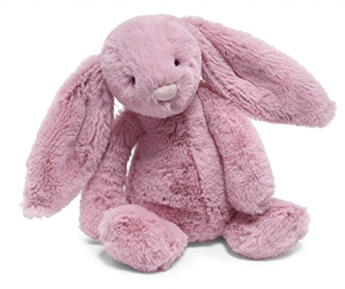 """Jellycat® Bashful Tulip Pink Bunny, Small - 7"""" front-1050510"""