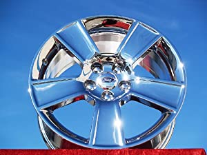 Ford Mustang: Set of 4 genuine factory 18inch chrome wheels
