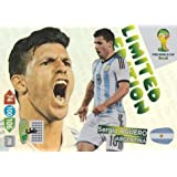 FIFA World Cup 2014 Brazil Adrenalyn XL Sergio Aguero Limited Edition