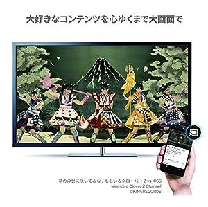 Google Chromecast ( Wi-Fi経由 テレビ接続 ストリーミング / HDMI / 802.11b/g/n / 1080p ) GA3A00035A16