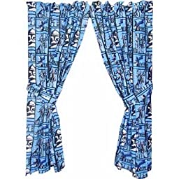 Star Wars The Clone Wars Curtains Drapes Window Panel 1 Pair 42\