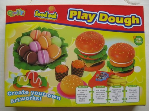 Modeling Clay, Create Your Own Artworks (Food Set)