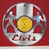 "Elvis Presley Platinum Clad 12"" LP Laser Cut"