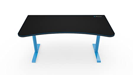 Arozzi Arena bureau, métal noir, bleu, 160x 80x 80cm, 5unité