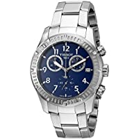 Tissot V8 Blue Dial Stainless Steel Men's Watch