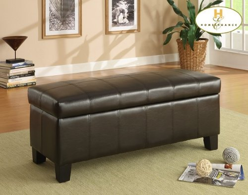 Lift Top Storage Bench of Claire Collection by Homelegance